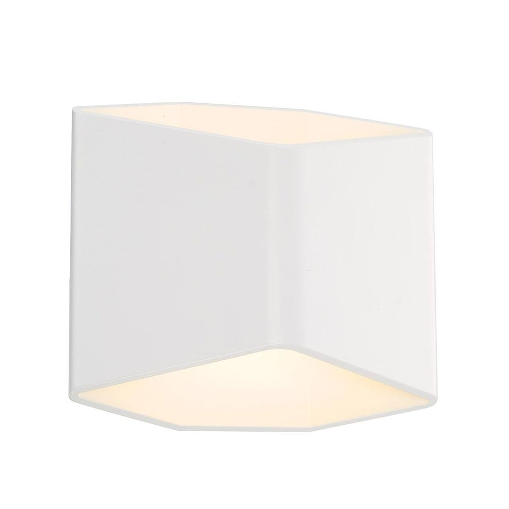 SLV CARISO LED Wandleuchte 2 Weiß 7,5W LED 3000K 1