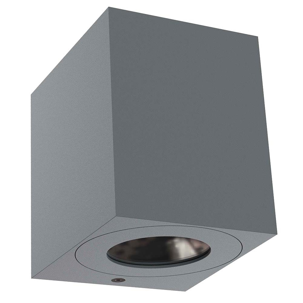 Nordlux LED Außen-Wandlampe Canto Kubi 2 IP44 Grau 2