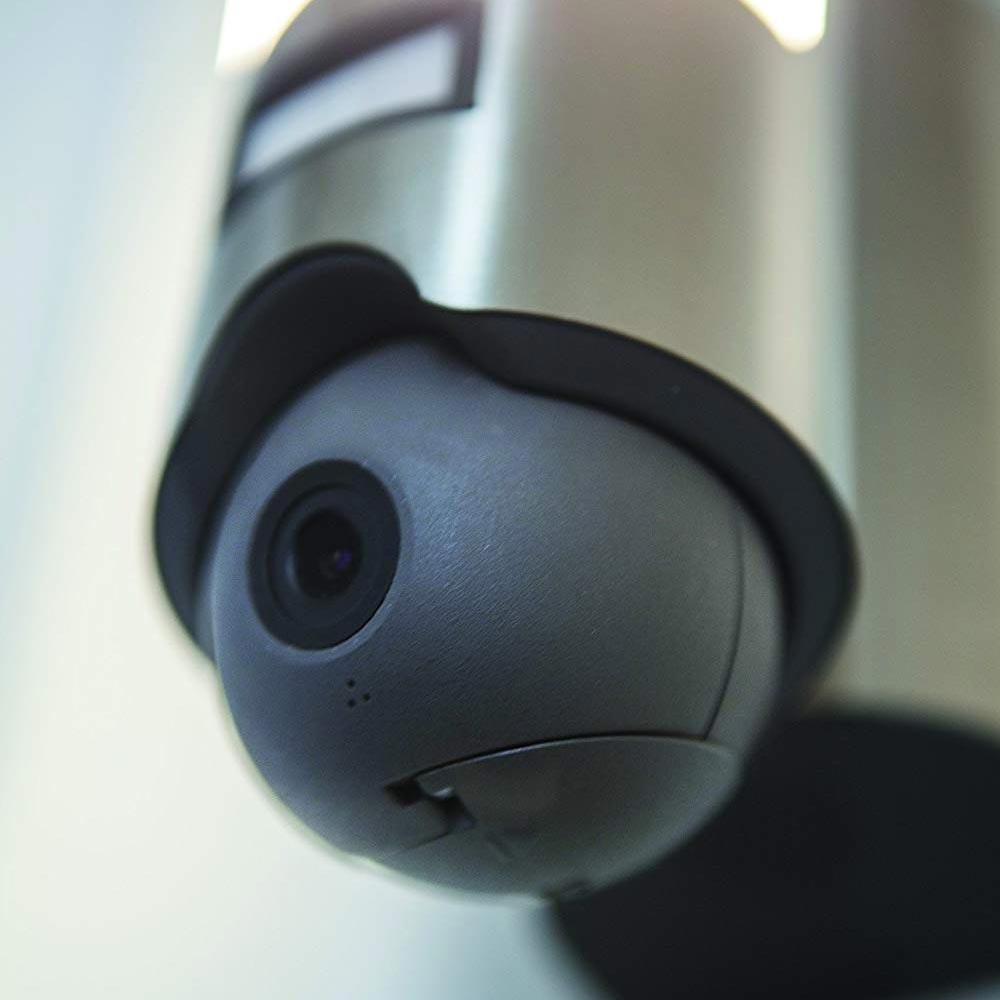 LED Kameraleuchte Elara mit Sensor IP44 Anthrazit thumbnail 3