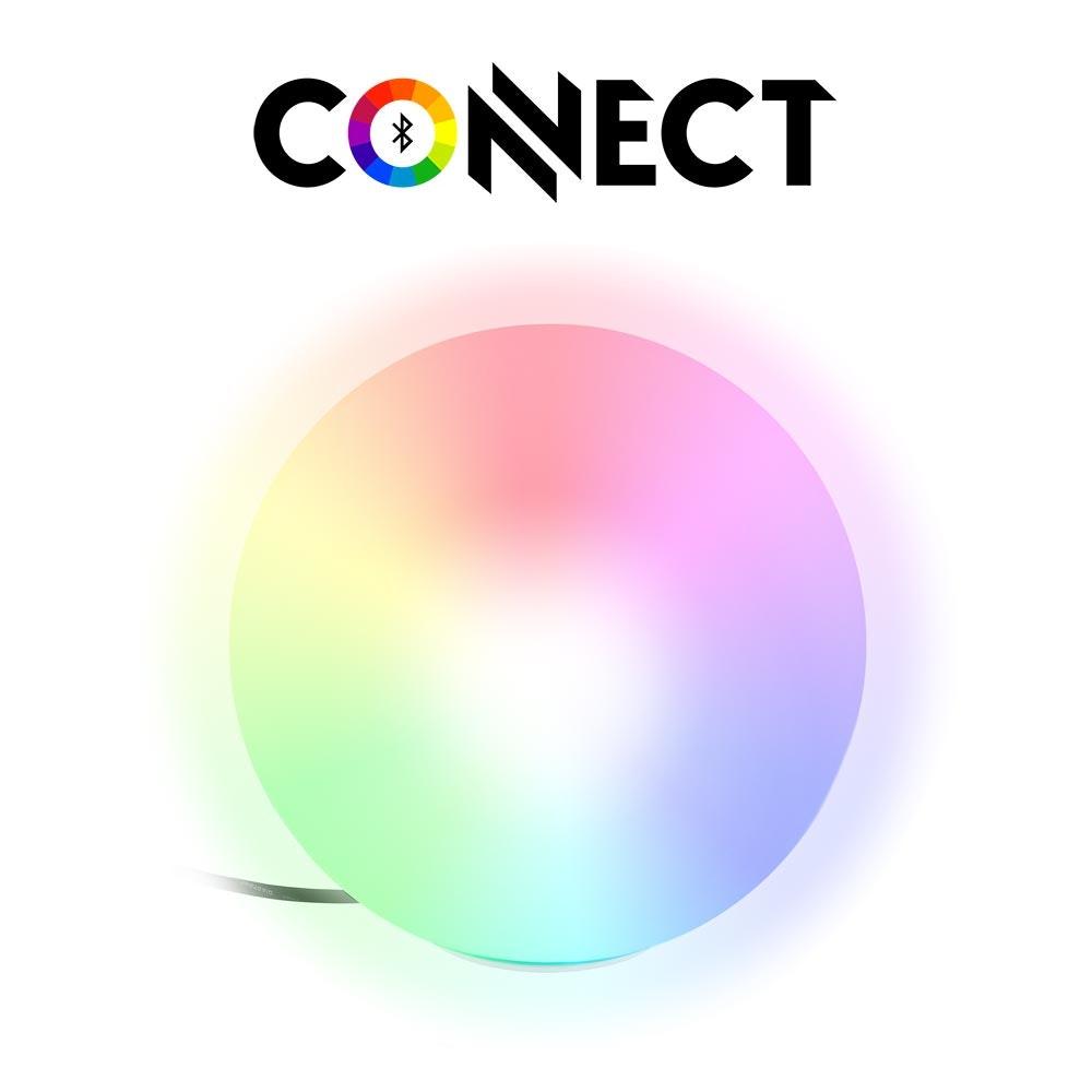Connect LED Aussen-Bodenlampe Ø 30cm IP65 RGB + CCT