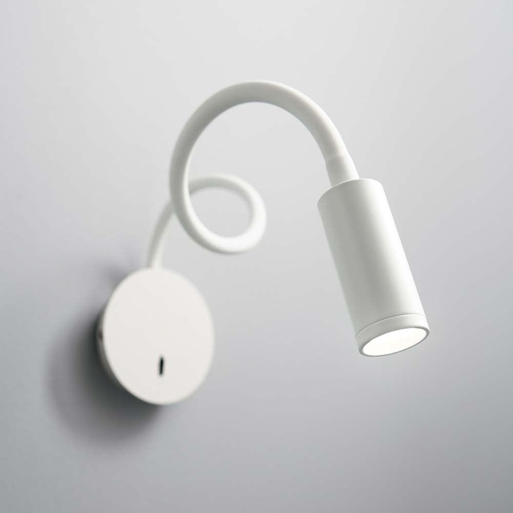 Ideal Lux LED Wandleuchte Focus-2 Weiß 1
