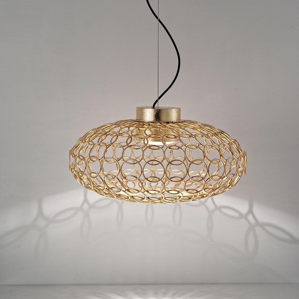 Terzani G.R.A Design-Hängeleuchte Ø50cm 1