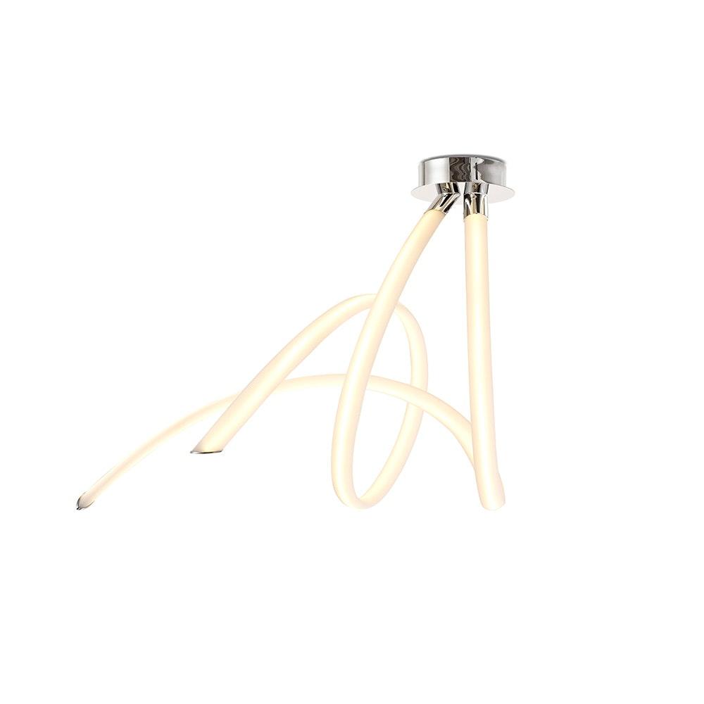 Mantra LED-Deckenleuchte Spirale Armonia 66cm 2