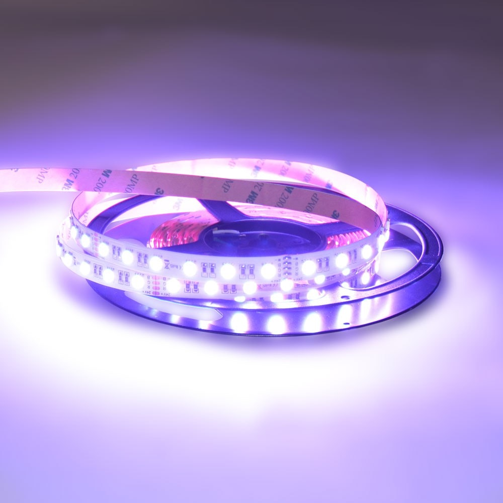 19,2 W/m RGBW Warmweiß 24V 5m LED-Strip IP20 4