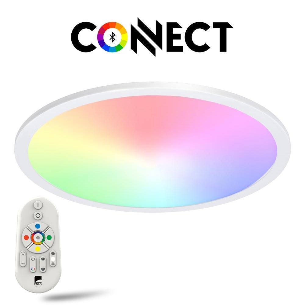 Connect LED-Panel Deckenleuchte Ø 45cm 2900lm RGB+CCT
