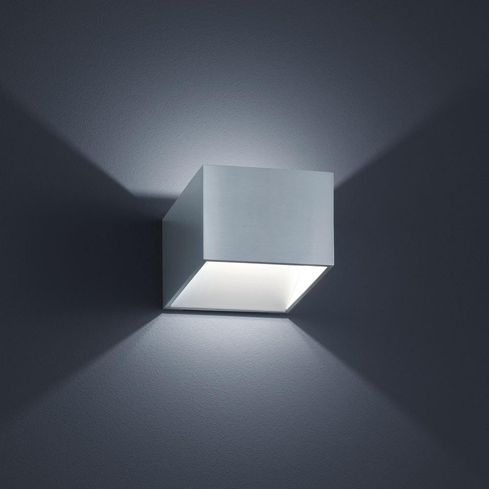 Miko LED-Wandleuchte 310lm Alu-matt