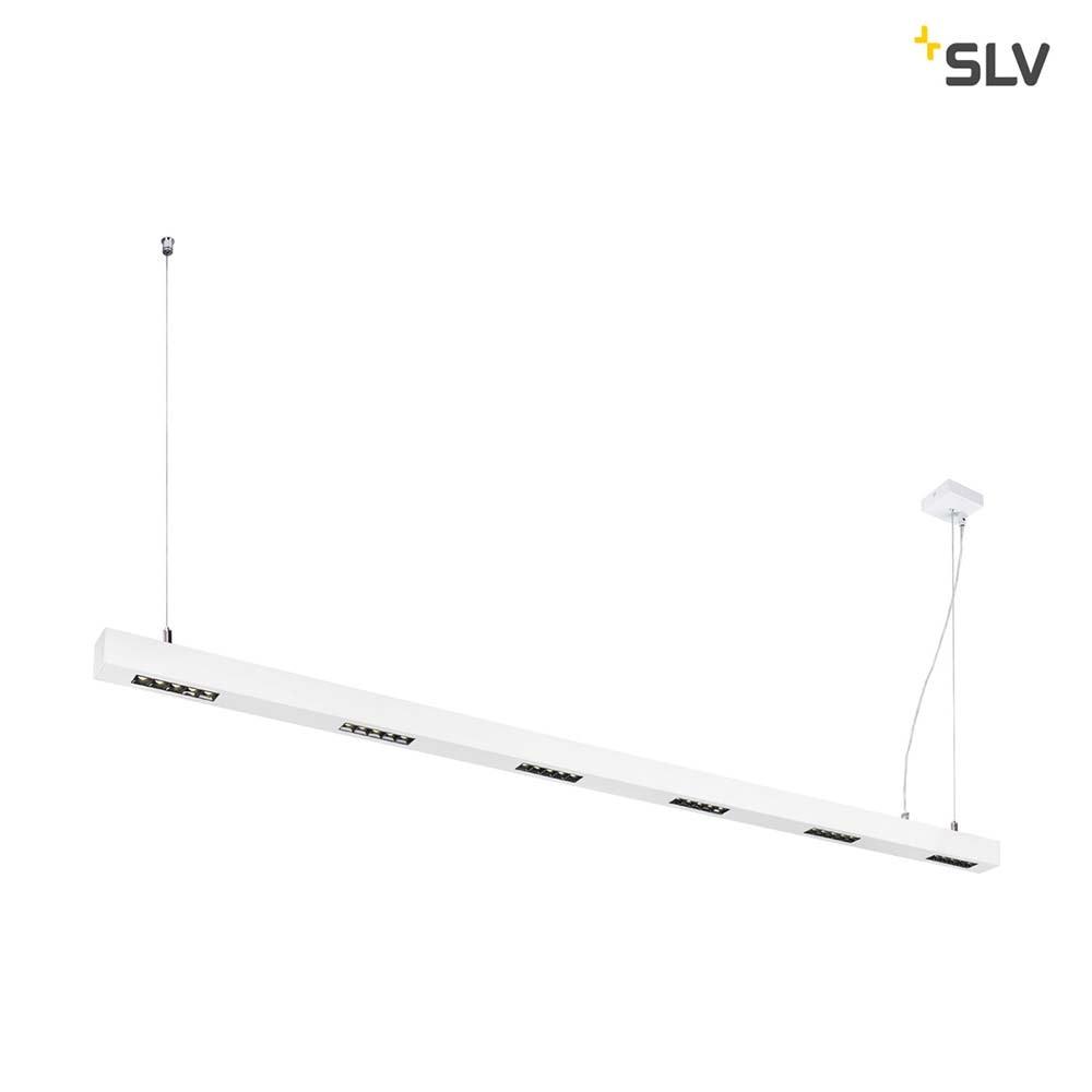 SLV Q-Line LED Pendelleuchte 2m Weiß 4000K 1