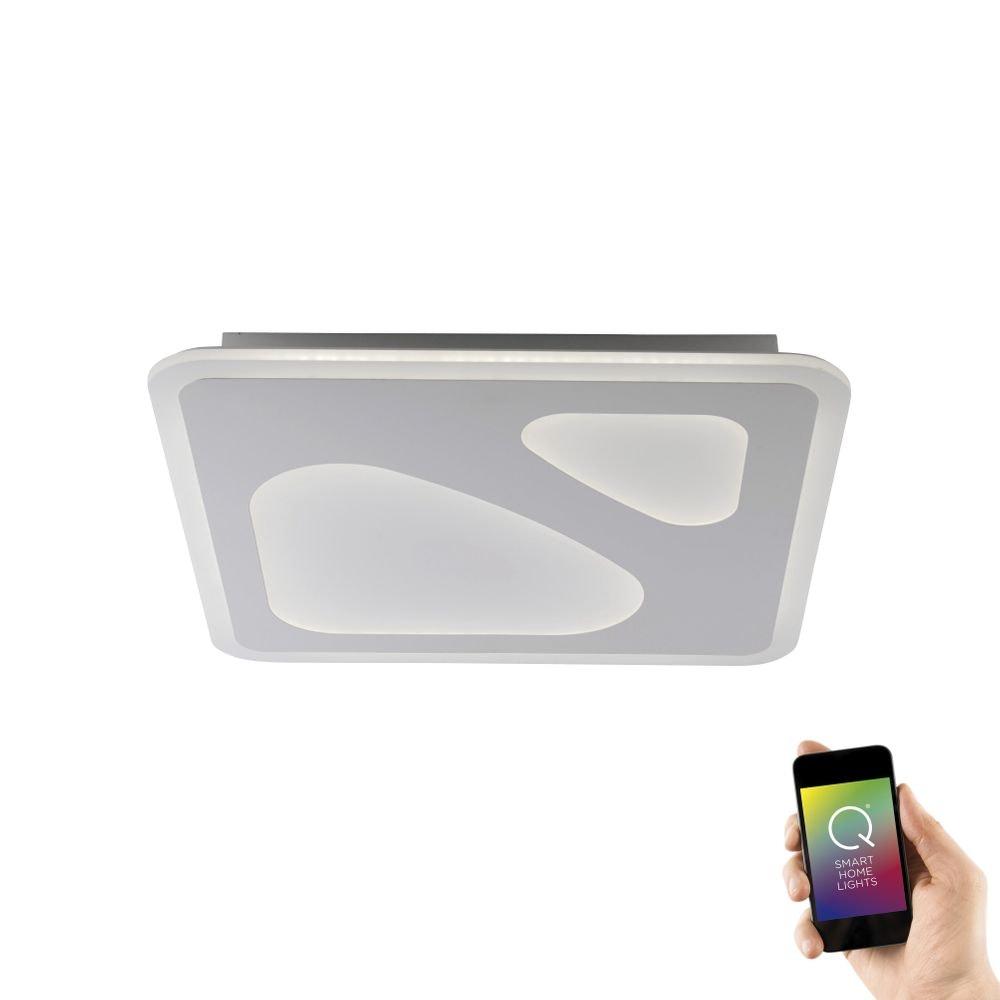Intelligente LED Deckenlampe Q-Ariana RGB+CCT 1