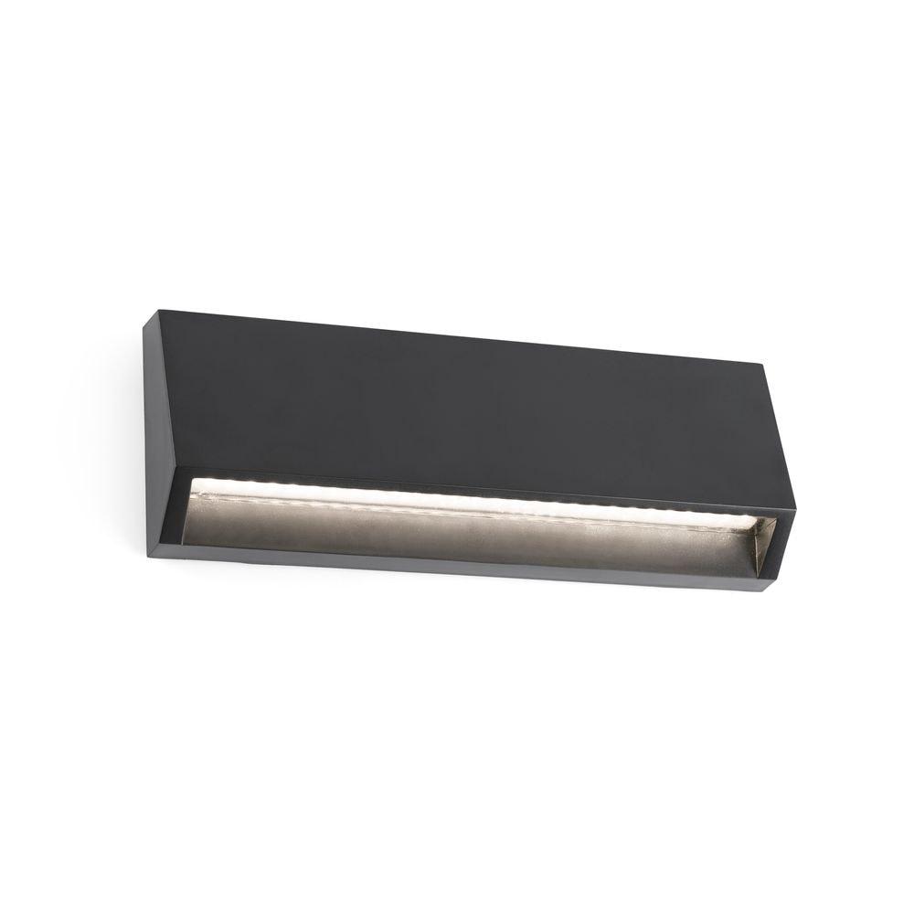 LED Außenwandleuchte MUST-3 3000K IP65 Dunkelgrau salzwasserfest 1