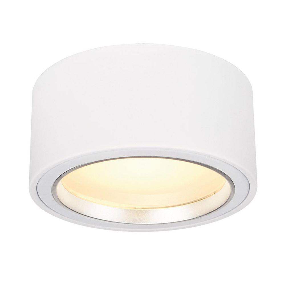 SLV LED AUFBAUSTRAHLER 1800lm rund Weiß 48 LED 3000K 1