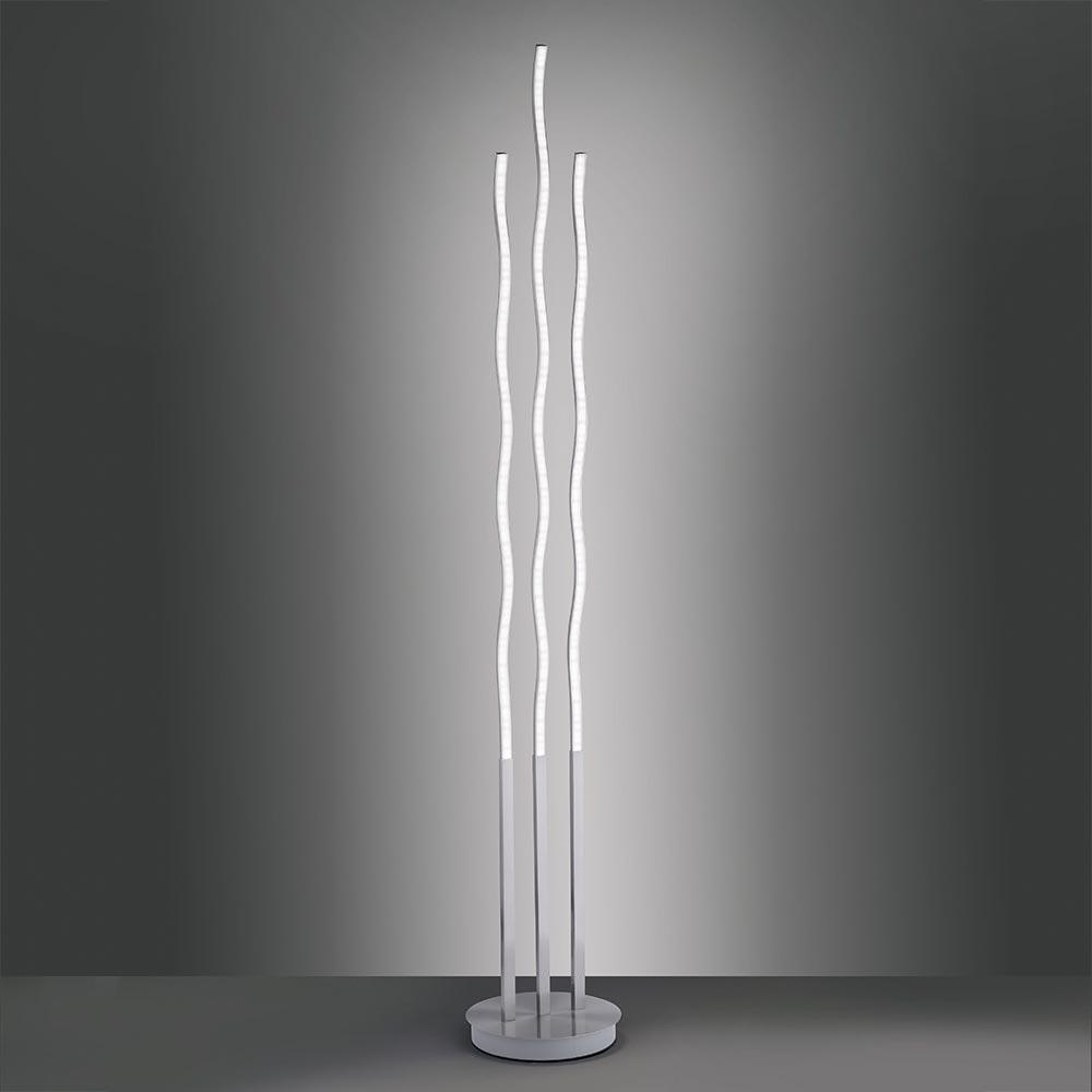 LED Stehlampe LS-Wave 151cm RGB+CCT Stahl 1