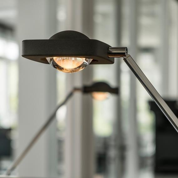 Oligo dimmbare LED Schreibtischleuchte Kelveen 90° Graphit 7