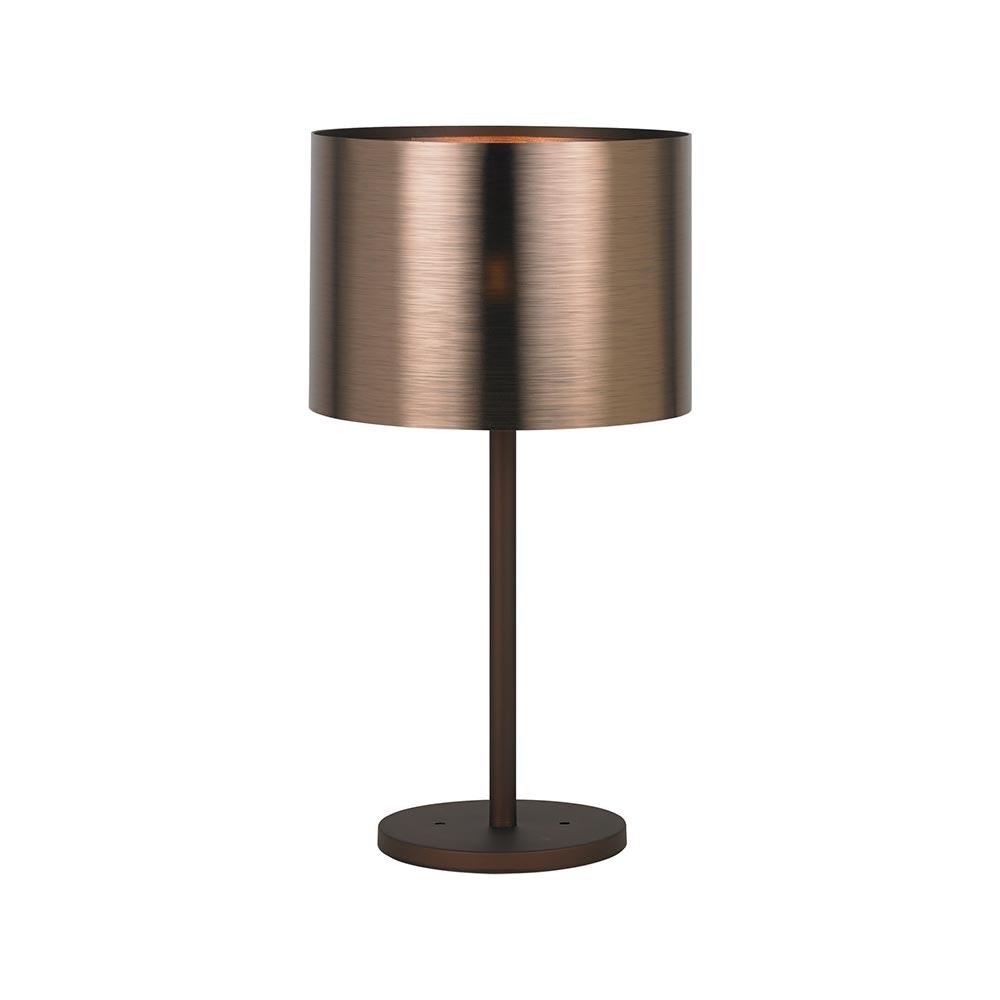 Tischleuchte Saganto1 Ø 35cm Braun, Kupfer