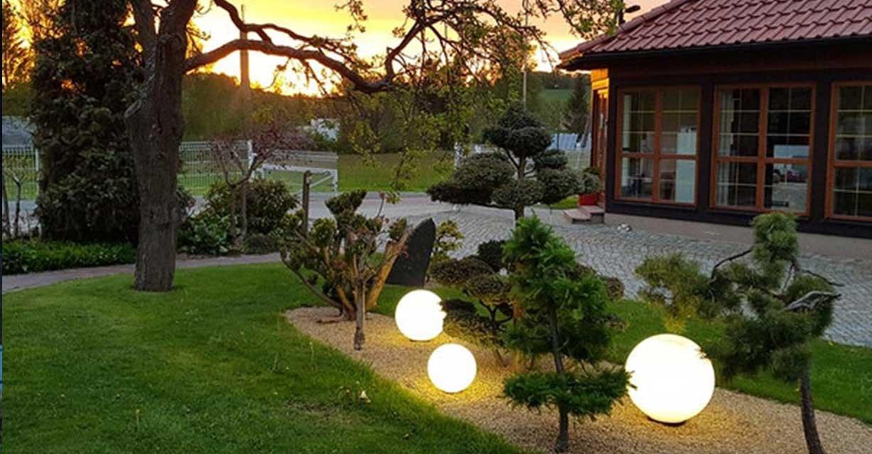 Globe Gartenbeleuchtung Beet Dekobeleuchtung