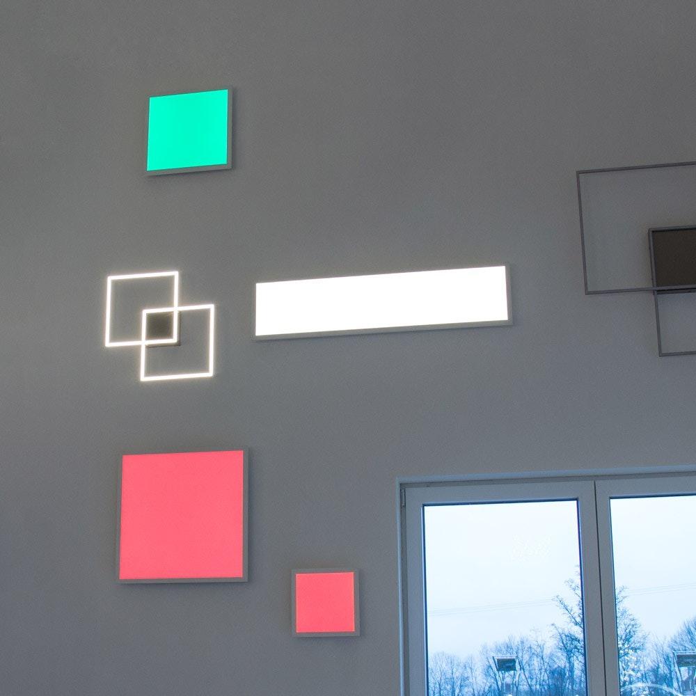 Connect LED Panel Deckenlampe 59,5x59,5cm 4300lm RGB+CCT 2