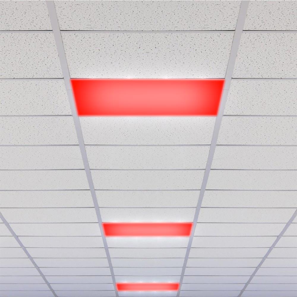 Connect LED Panel Deckenlampe 59,5x59,5cm 4300lm RGB+CCT 6