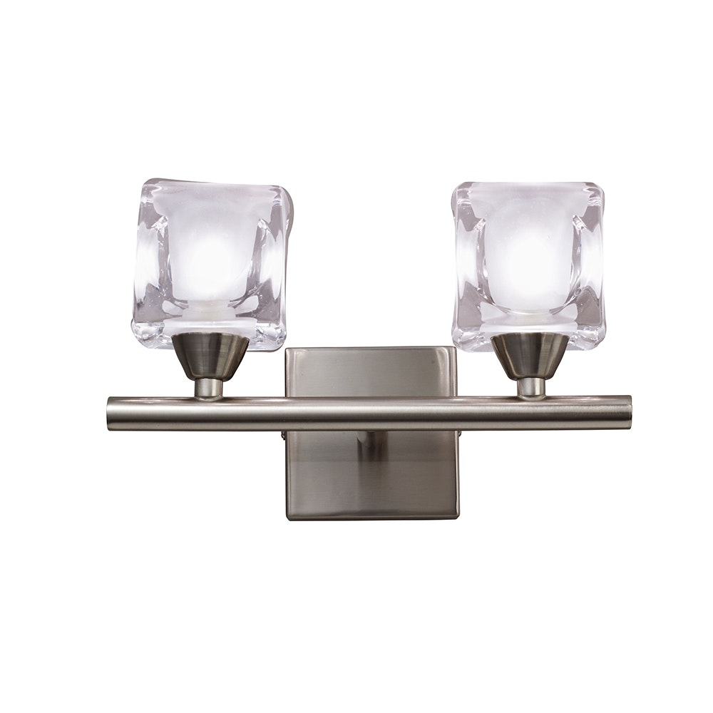 Mantra Doppel-Wandlampe Cuadrax Cristal 3