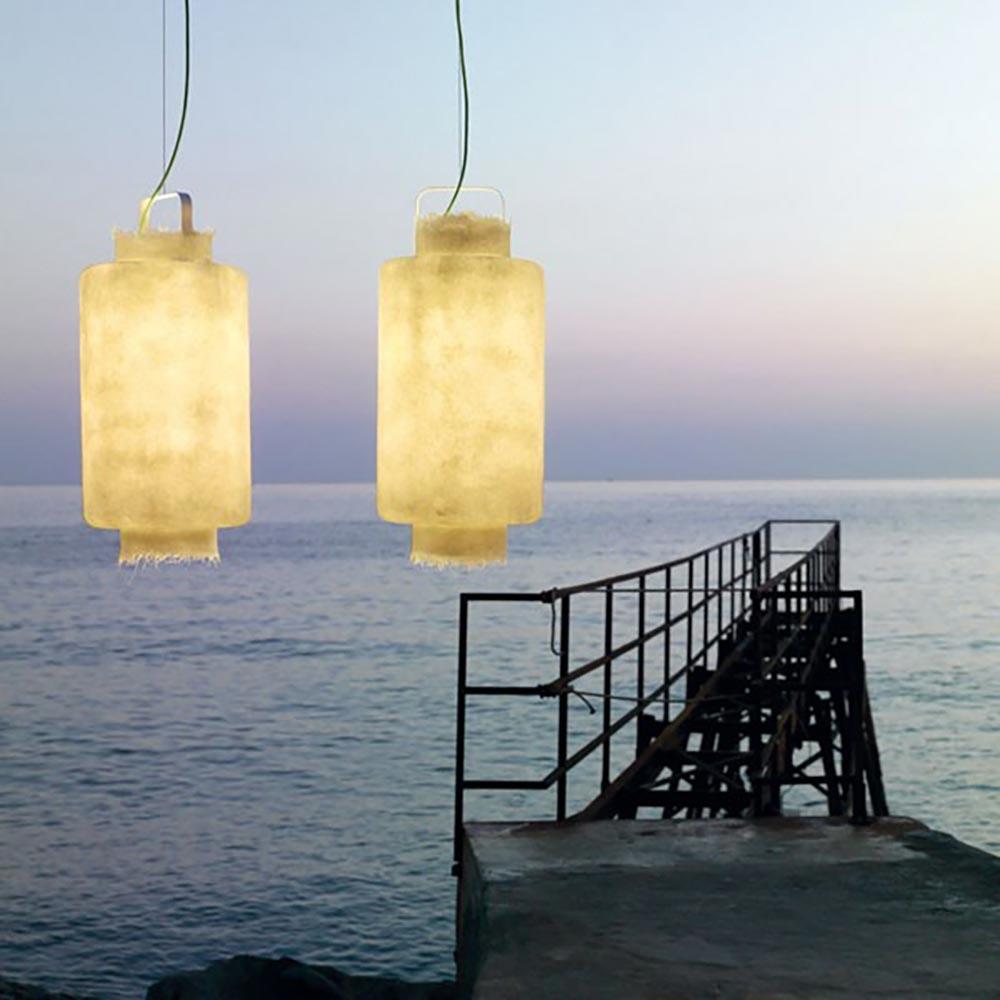 Karman Kimono LED Aussen-Hängeleuchte IP65 1