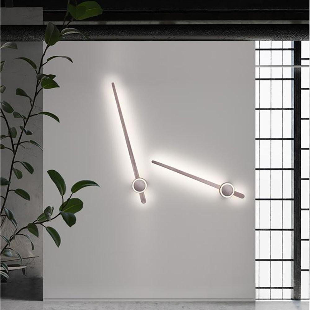 Nova Luce Kedo LED Wandleuchte aus Aluminium thumbnail 3