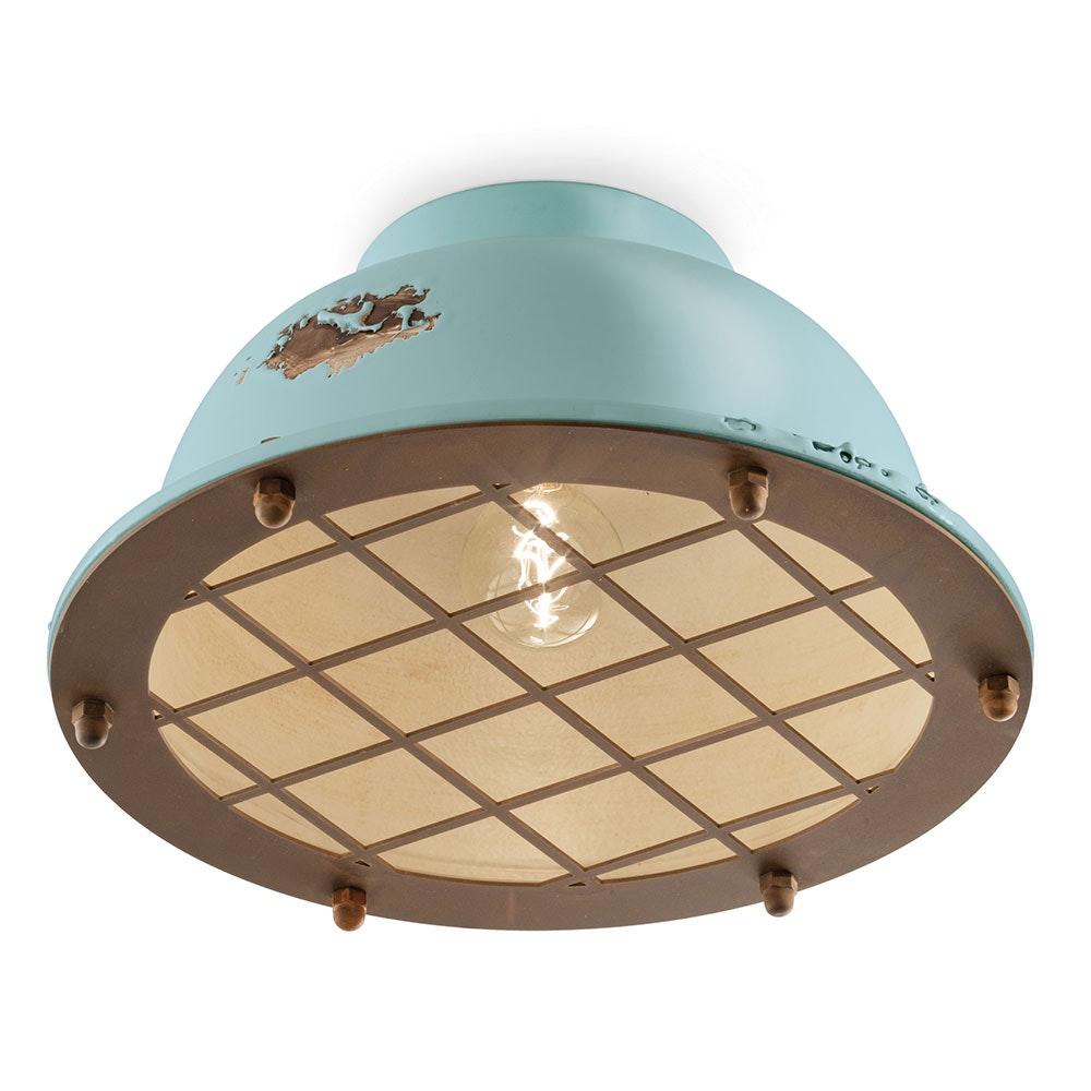 Ferroluce Industrial Deckenlampe 4