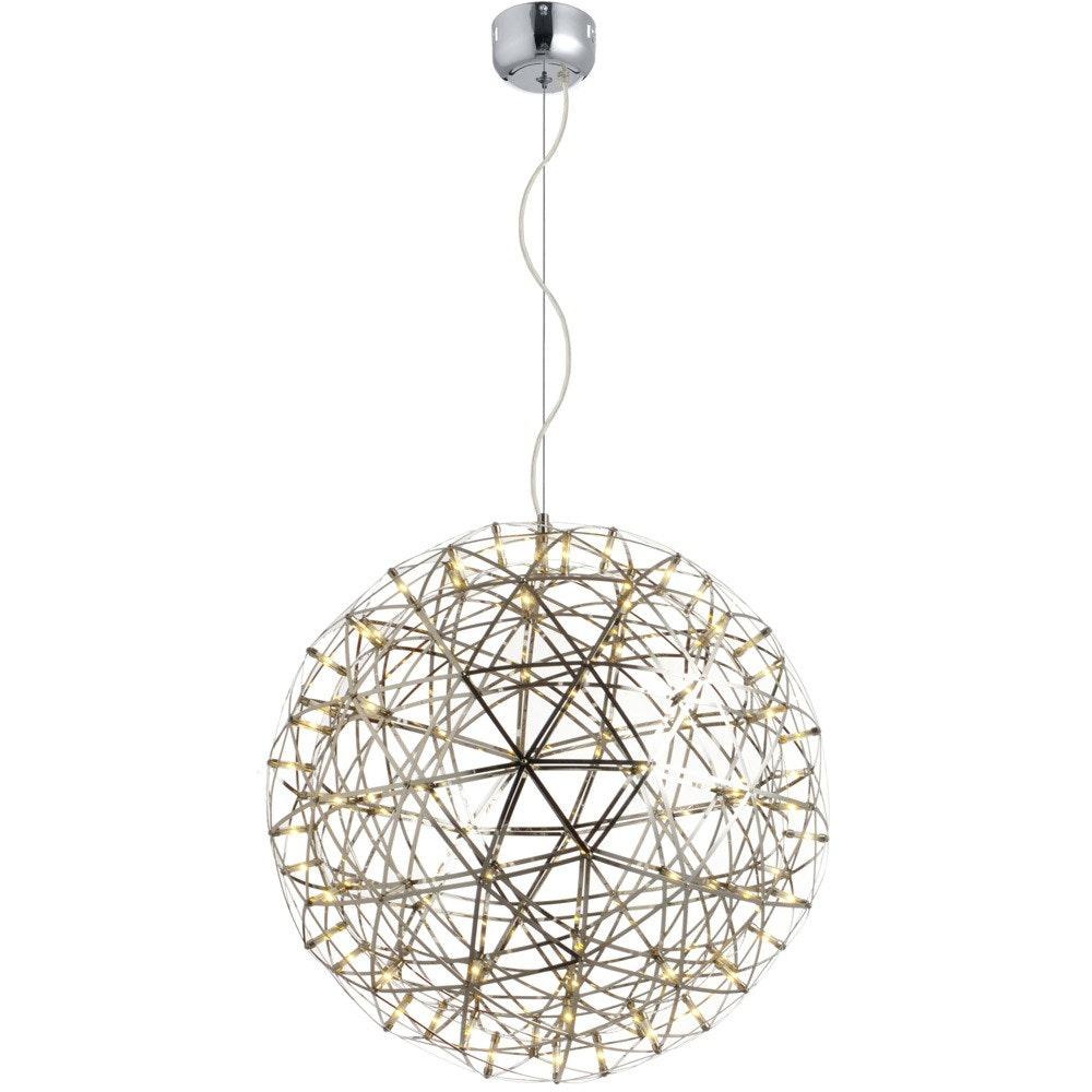 s.LUCE pro Atom 70 dimmbare LED-Pendelleuchte Metallkugel 6