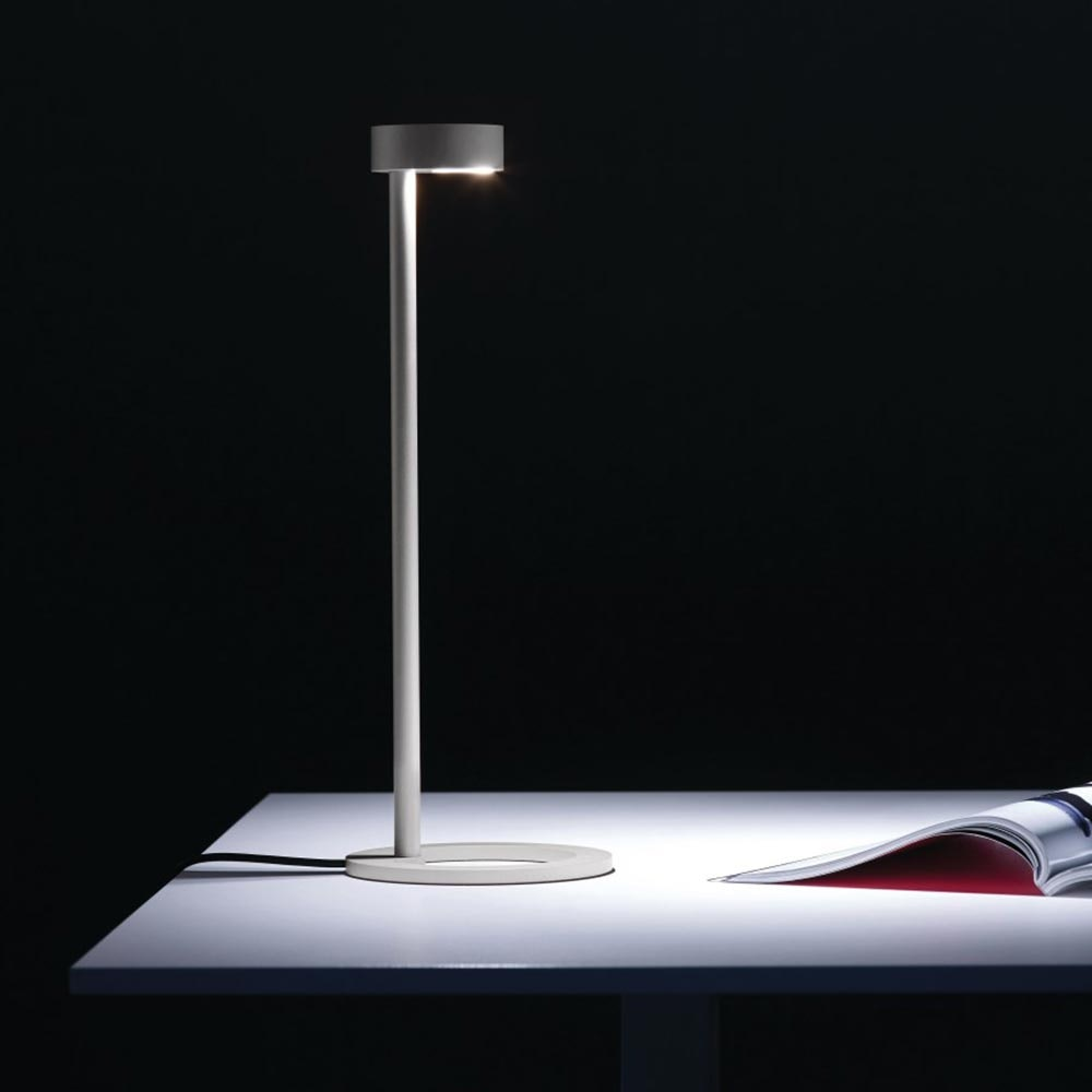 Molto Luce Iven LED Tischleuchte asymetrisch 3-Stufen Touch Alu 1