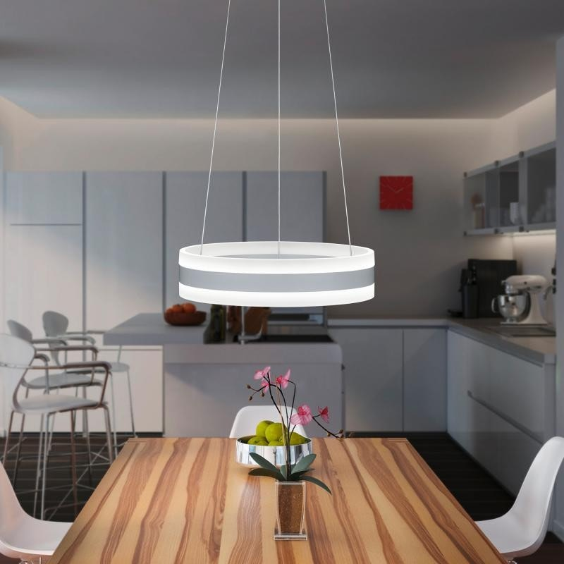 Liv LED-Ring 60cm Pendelleuchte Up&Down 6600lm dimmbar