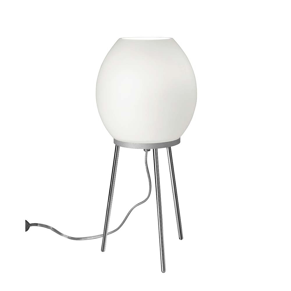 Villeroy & Boch LED Tischleuchte Johannesburg 40cm Chrom, Weiß