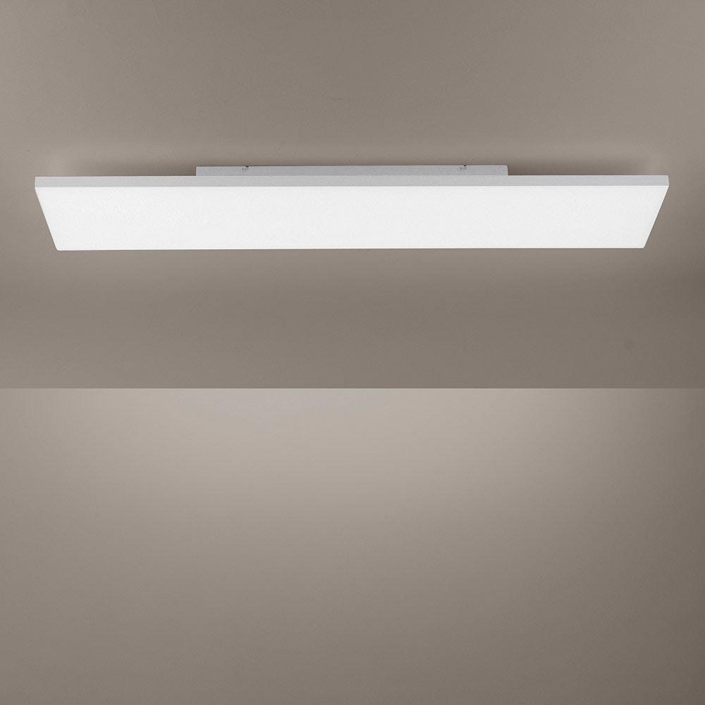 Q-Flat 2.0 rahmenloses LED Deckenleuchte 100 x 25cm CCT + FB Weiß thumbnail 5