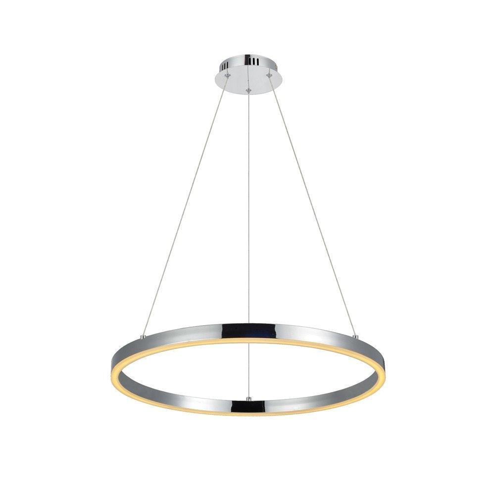 s.LUCE Ring 60 LED-Hängeleuchte 5m Abhängung 11