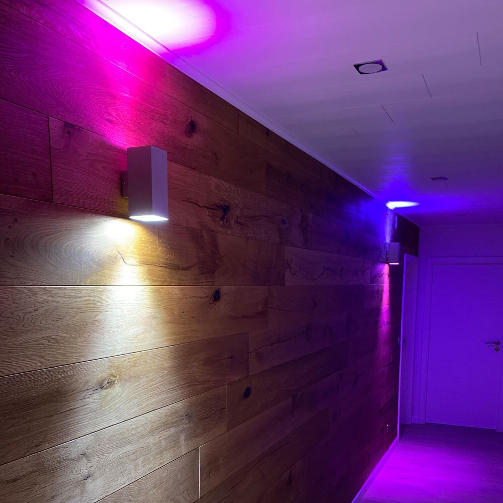 s.LUCE iLight GU10 LED COB 6W RGB + CCT 4