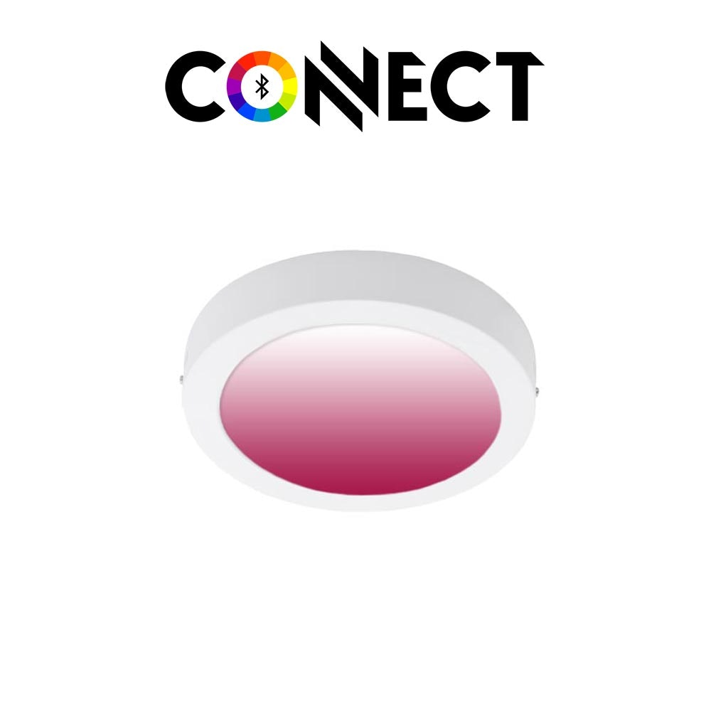 Connect LED Aufbauleuchte Ø 22,5cm 2000lm RGB+CCT