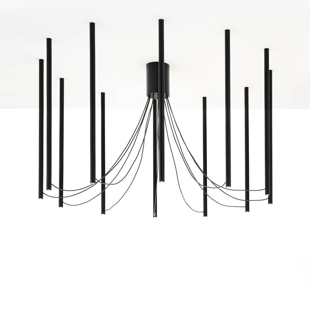 Fabbian Ari LED-Pendelleuchte 12-flammig 1