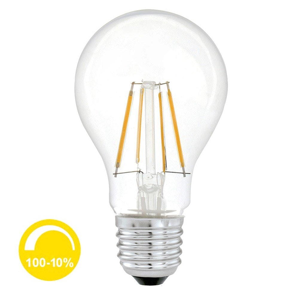 E27 Profi LED Stufenlos dimmbar 600lm Warmweiß 1