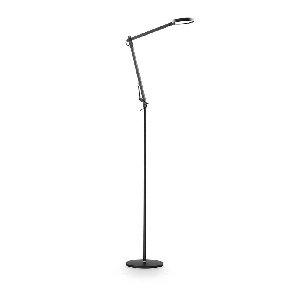 Ideal Lux LED Stehleuchte Futura Schwarz