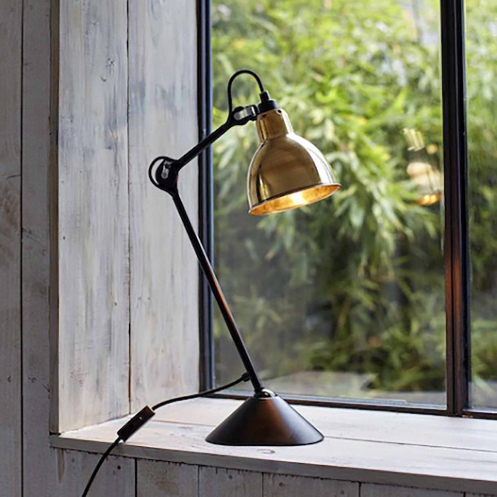 DCW Gras N°205 Tischlampe mit Schirm schwenkbar 14