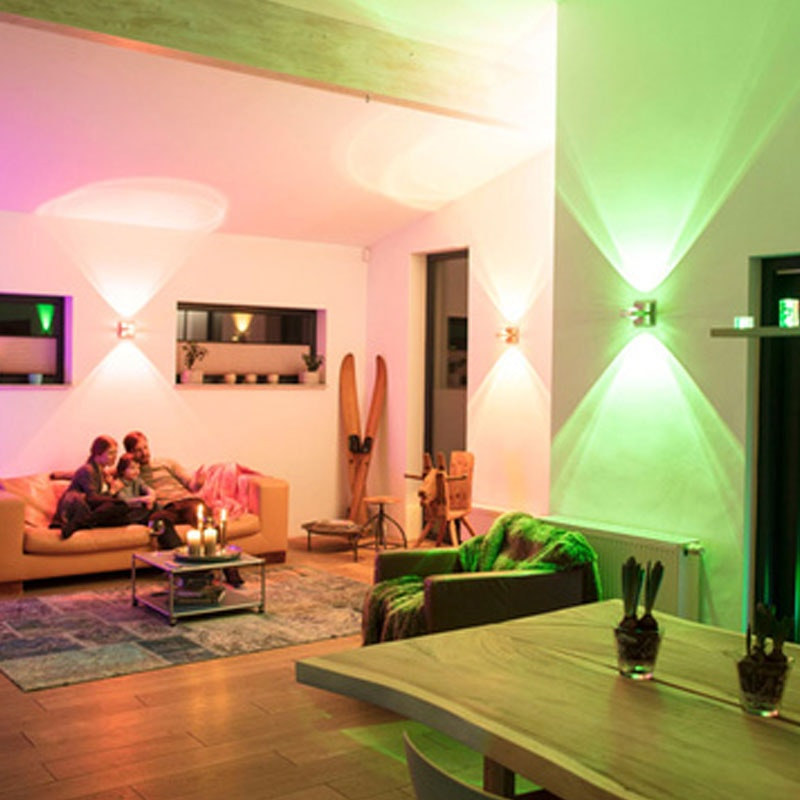 Intelligente LED Deckenlampe Q-Ariana RGB+CCT 11