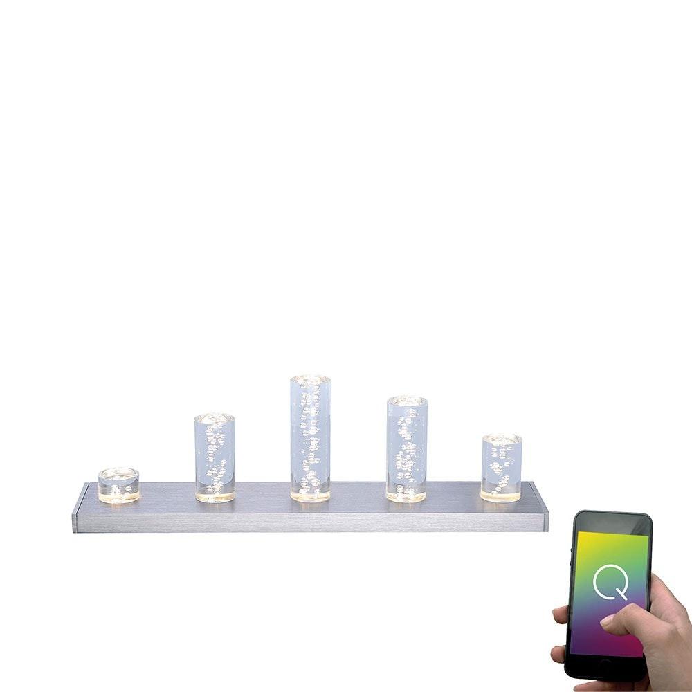 LED Tischleuchte Q-Skyline RGBW