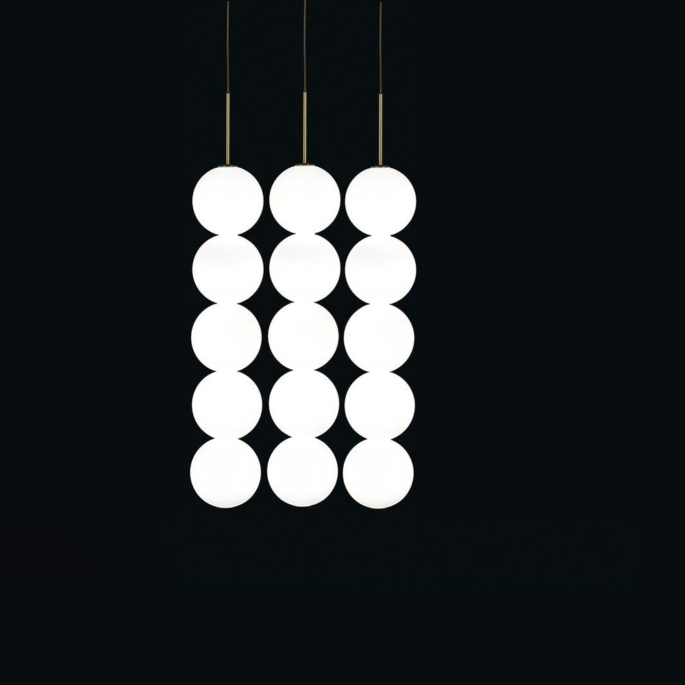 Terzani Abacus LED Design-Hängelampe 3er