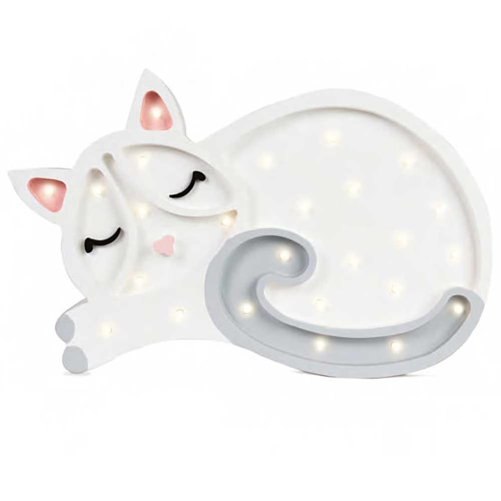 Little Lights Kinder Wand- & Tischleuchte Katze  2