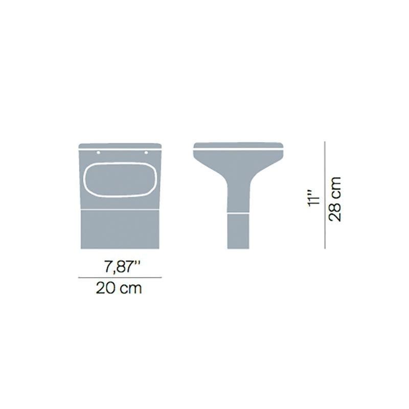 Luceplan Außen-Bodenleuchte Sky IP65 28cm thumbnail 3