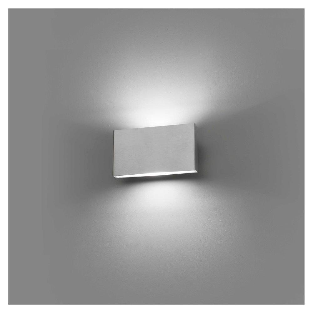 LED Wand-Außenlampe KAULA 3000K IP44 Edelstahl Meerwasserfest Küstenlampe 1