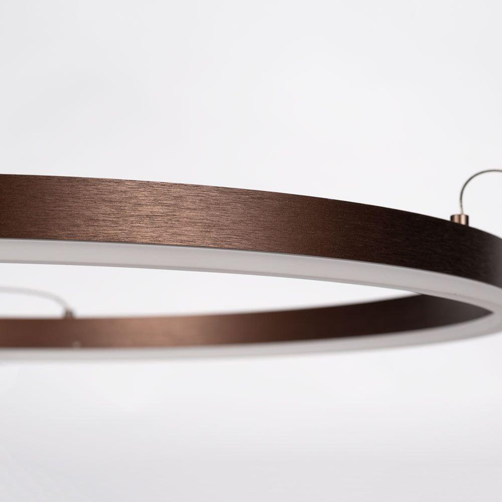 s.LUCE Ring 100 LED Hängelampe 5m Abhängung 21