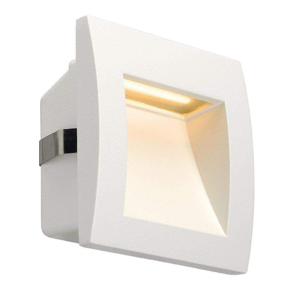 SLV Downunder OUT LED S Wandeinbauleuchte Weiß 1