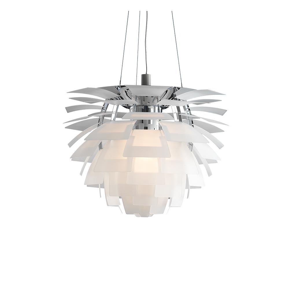 Louis Poulsen LED Hängelampe PH Artichoke Glas Sandgestrahlt 2