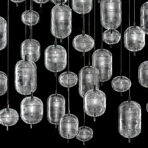 Studio Italia Design Jefferson LED Glas Hängelampe thumbnail 4